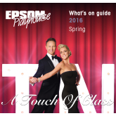 See what Epsom Playhouse have in store for Spring @EpsomPlayhouse #lovelocaltheatre