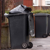 Telford's Christmas and New Year bin days