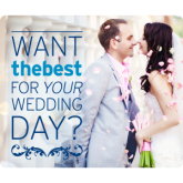 Want the best for your wedding?