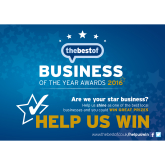 Who has qualified for Business of the Year 2016?