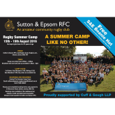Cuff and Gough proudly support local Rugby Club's Summer Camp! @CuffandGoughLLP #Epsom