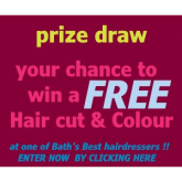 Win a FREE Hair cut & colour