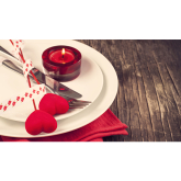 Set Valentine's Menu at Portobello Restaurant in Walsall