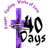 On the first day of Lent....