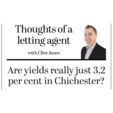 Are Yields Really Just 3.2% in Chichester?