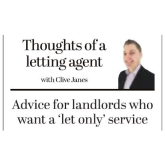 Advice for Landlords who Want a 'Let Only' Service