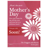 Mother's Day at The Waggon and Horses
