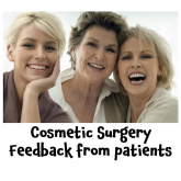 It can be difficult to leave feedback on a personal matter such as cosmetic surgery - @TheWilsonClinic
