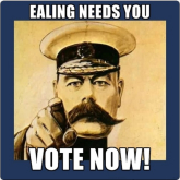 Please vote for Ealing!