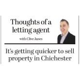 It's Getting Quicker to Sell Property in Chichester