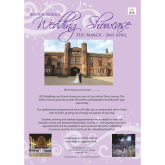 Book your appointment to view the Bolton School Wedding Showcase!