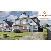 Letting of the Week - 4 Bed Semi-Detached - Chadacre Road, #Stoneleigh @PersonalAgentUK