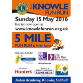 Knowle Fun Run - Sunday 15th May
