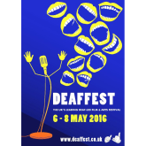 Deaffest has a comedy theme