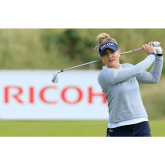 Charley Hull from Kettering is runner up in the first Ladies Golf Major of the Year.