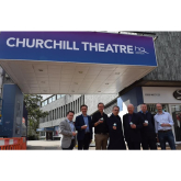 It's all change at the The Churchill Theatre Bromley!