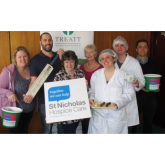 Treatt brings new flavour to St Nicholas Hospice Shop for the day