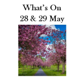 What's On 28 & 29 May 2016 in and around Harrogate