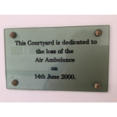 Air Ambulance Memorial Plaque Not Listing Victims Is Branded Insensitive