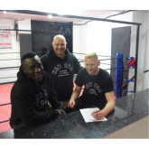 Sam Jones Signs Professional Boxing Agreement