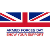 It's Armed Forces Day Again!  Salute To Show Your Respect On 25th June!