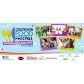 Don't worry.... eat happy in Croydon this weekend!