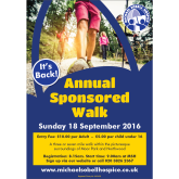MICHAEL SOBELL HOSPICE ANNUAL SPONSORED WALK MAKES A COMEBACK