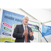 Photographing the Opening of Bridgend County Show