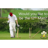 12th Man @Banstead_CC v England Masters – FREE Competition – Enter Now