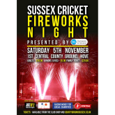 Fireworks Night returns to the 1st Central County Ground!