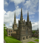 Lichfield Cathedral – Supporting from Behind Closed Doors
