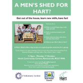 A Men's shed for Hart?