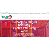 Fidgets Soft Play Area Launch Brand New Website!