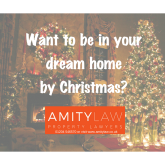 Want to be in your Dream Home for Christmas?
