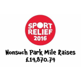 Nonsuch Park Mile raises £14870.74 for Sport Relief @SportRelief @EpsomEwellBC