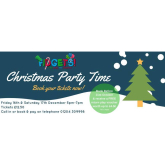 Book your tickets for the Fidgets Soft Play Centre, Christmas Parties!