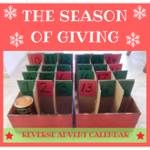 CREATE A REVERSE ADVENT CALENDAR FOR SAFER