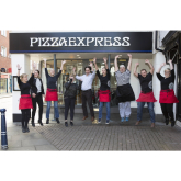 SUPER NEW LOOK FOR HITCHIN PIZZA EXPRESS