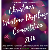 The Sudbury Christmas Window Display 2016