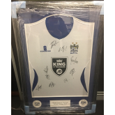 Belvoir auction shirt for Radcliffe Borough after fire
