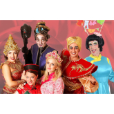 A family's highlights of Aladdin at The Queens theatre Barnstaple