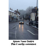 #Epsom 'Plan E' Highway Improvements  start 9th January 2017 in Town Centre @EpsomEwellBC