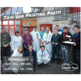 JOIN THE PAINTING PARTY AT THE CALVERT TRUST!