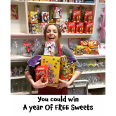 Year Of Free Sweets For One Golden Ticket Winner #Epsom @Ashley_Centre @Hattyssweetshop