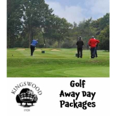 Golf Away Day Packages at Kingswood Golf & Country Club @KingswoodGC