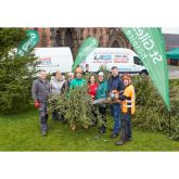 St Giles Hospice Branches Out With Treecycling Campaign – And Raises an Incredible £8,500!
