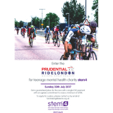 Enter the Prudential Ride London event with stem4
