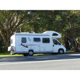 Exploring the open road with a motorhome from Practical Car & Van Rental.