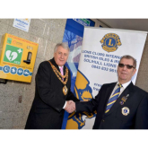 24 hour Defibrillator installed in Solihull Town Centre