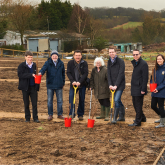 Start spring planting with the opening of the Bucks Meadow extension at Paddock Road Allotments, Watford